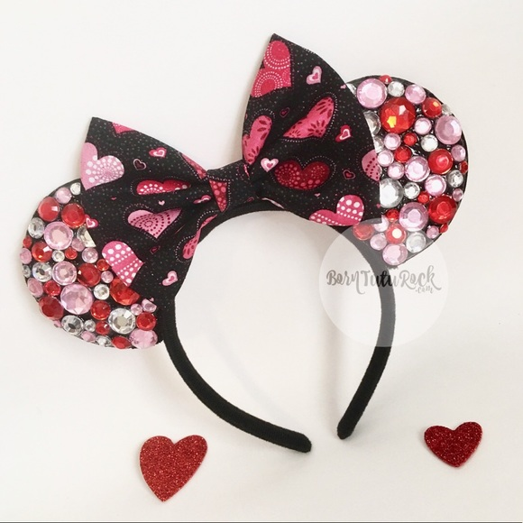 Valentines Day Mouse Ears